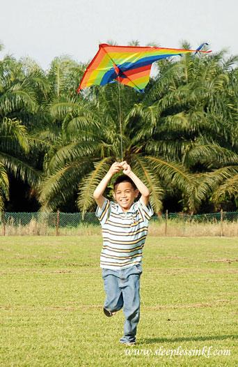 MyEldest with kite