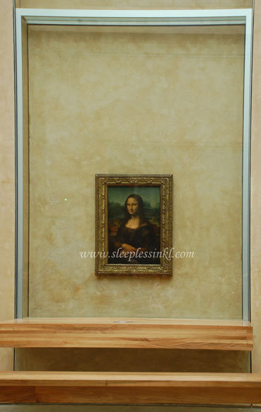 Mona Lisa from a distance
