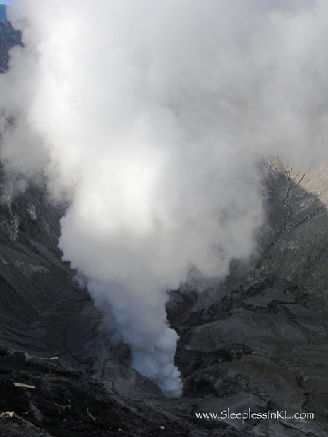 crater of Mt Bromo