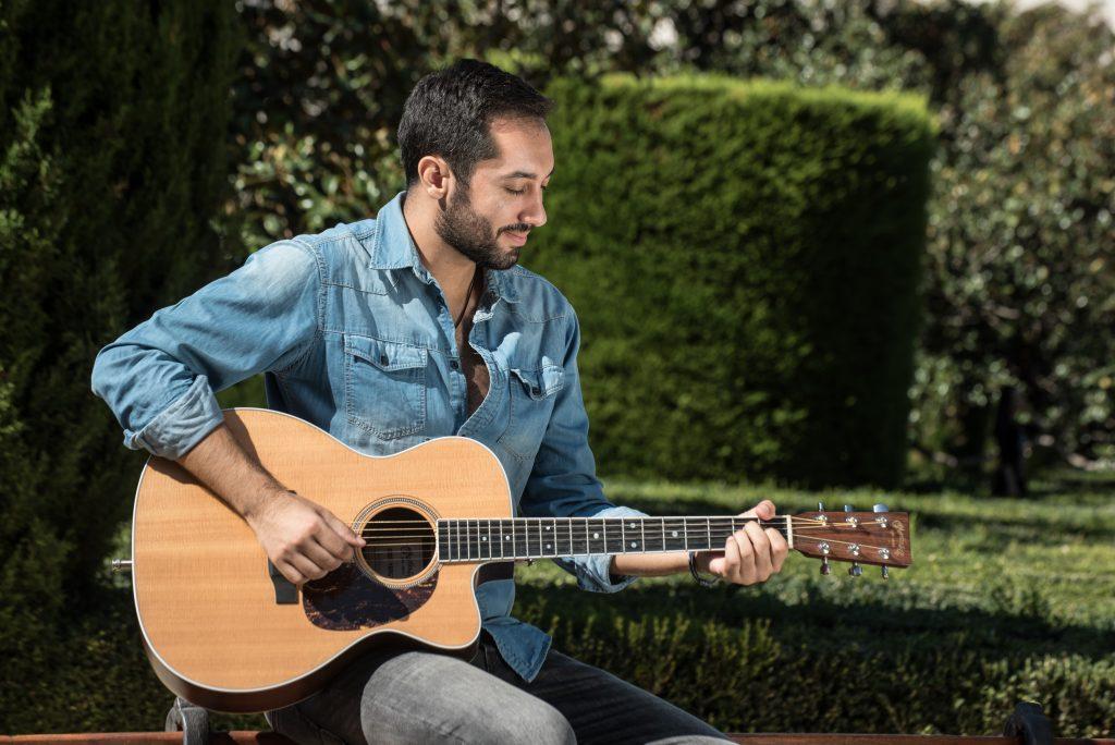 David Castro, singer & composer from Madrid, Spain